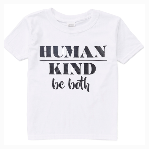 """Human Kind Be Both"" Youth Unisex Fit Tee"