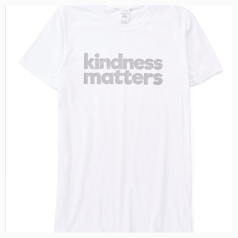 """Kindness Matters"" Adult Unisex Fit Tee"