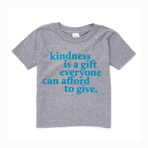 """Kindness is a Gift"" Youth Unisex Fit Tee"