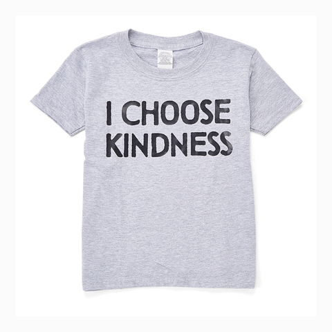 """I Choose Kindness"" Youth Unisex Fit Tee"