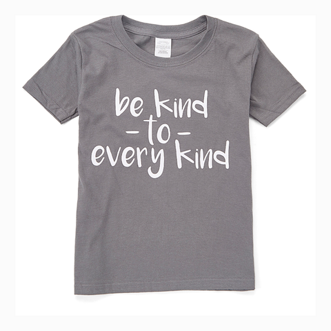 """Be Kind to Every Kind"" Youth Unisex Fit Tee"