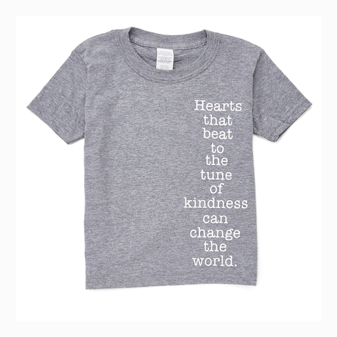 """Tune of Kindness"" Youth Unisex Fit Tee"