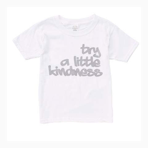 """Try a Little Kindness"" Youth Unisex Fit Tee"
