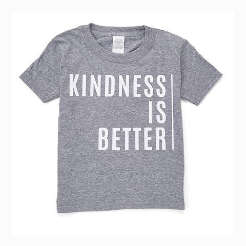 """Kindness is Better"" Youth Unisex Fit Tee"