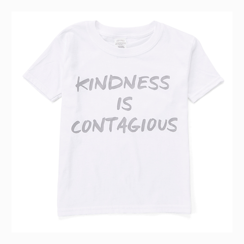 """Kindness is Contagious"" Youth Unisex Fit Tee"