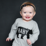 """Baby Bear"" Romper - The Talking Shirt - 1"