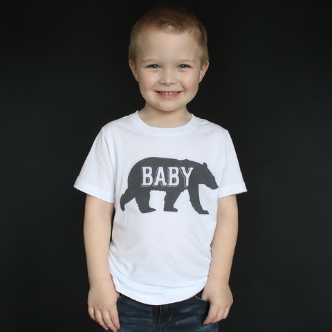 """Baby Bear"" Unisex Tee - The Talking Shirt"