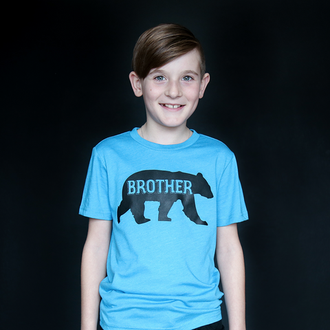 "Turquoise ""Brother Bear"" Tee - The Talking Shirt"