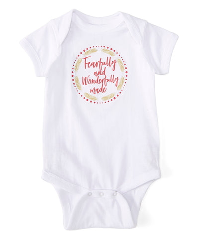 """Fearfully and Wonderfully"" Bodysuit"
