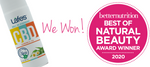 Lafe's CBD Roll On Deodorant Chamomile Tea Won Better Nutrition's Best of Natural Beauty 2020 Award