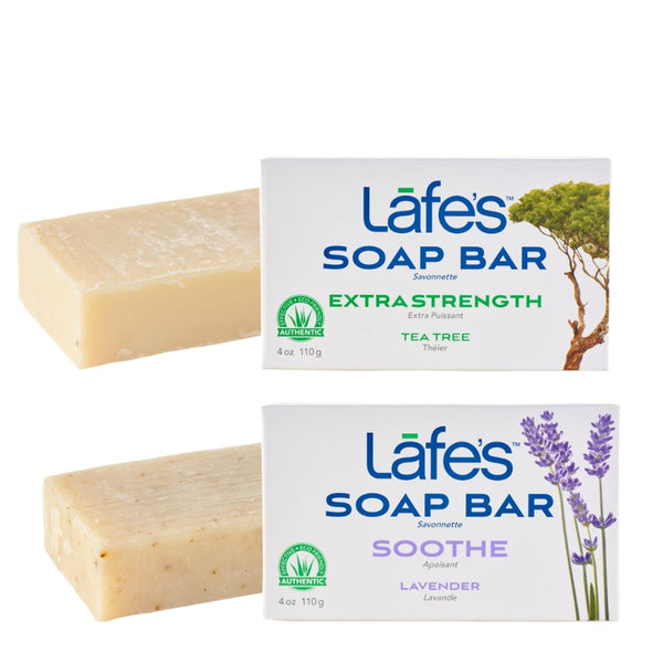 NEW Lafe's Natural Handcrafted Bar Soap Sampler