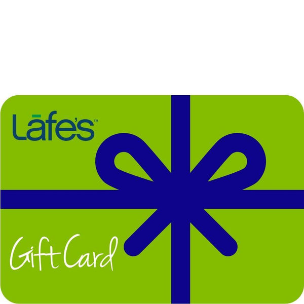 NEW Lafe's Natural BodyCare Gift Card (Choose Your $)