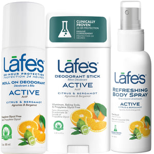Load image into Gallery viewer, Lafe's Active Deodorant & Body Spray Sampler