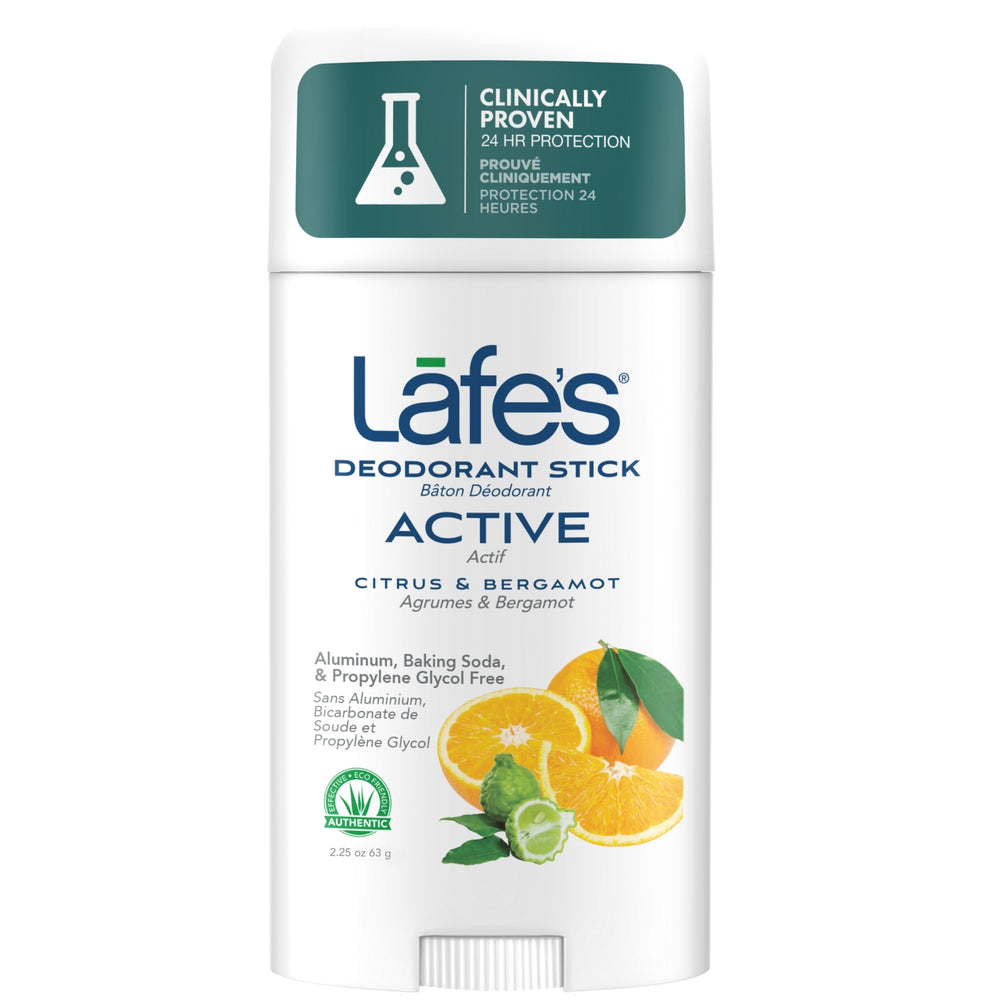 Load image into Gallery viewer, Lafe's Deodorant Stick - Active (Citrus + Bergamot)