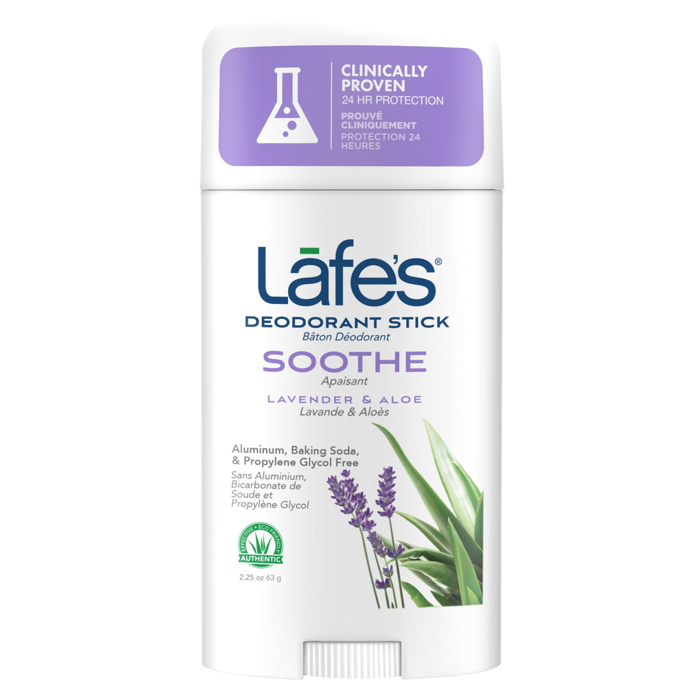 Load image into Gallery viewer, Lafe's Deodorant Stick - Soothe (Lavender + Aloe Vera)