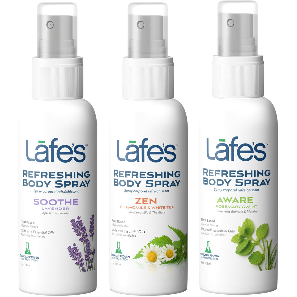 Lafe's Refreshing Body Spray - Women's Variety 3 Pack