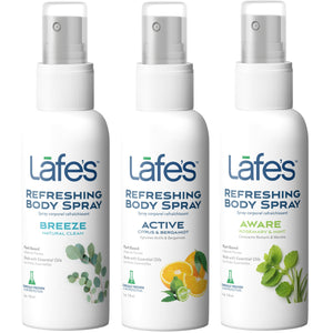 Lafe's Refreshing Body Spray - Men's Variety 3 Pack