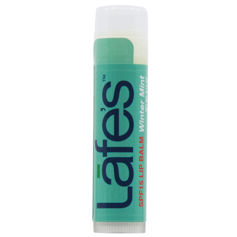 Lafe's SPF15 Moisturizing Lip Balm - Winter Mint