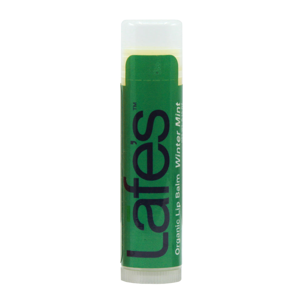 Lafe's Organic Moisturizing Lip Balm - Winter Mint