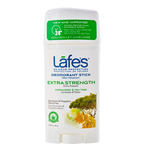 Lafe's Deodorant Twist-Stick - Extra Strength (Coriander & Tea Tree)