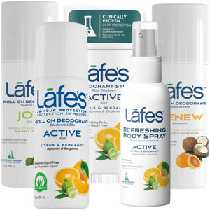 Load image into Gallery viewer, Lafe's Citrus Love Deodorant & Body Spray Sampler