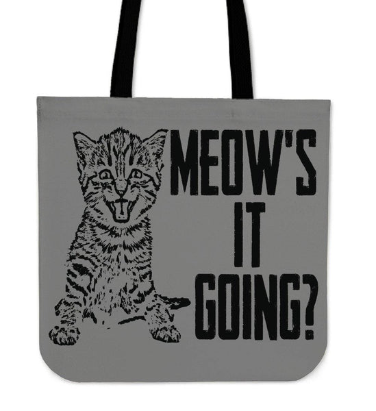 Meow's It Going? Tote Bag