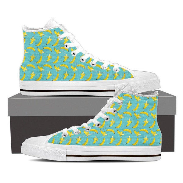 Banana Canvas Shoes in Low or High Top
