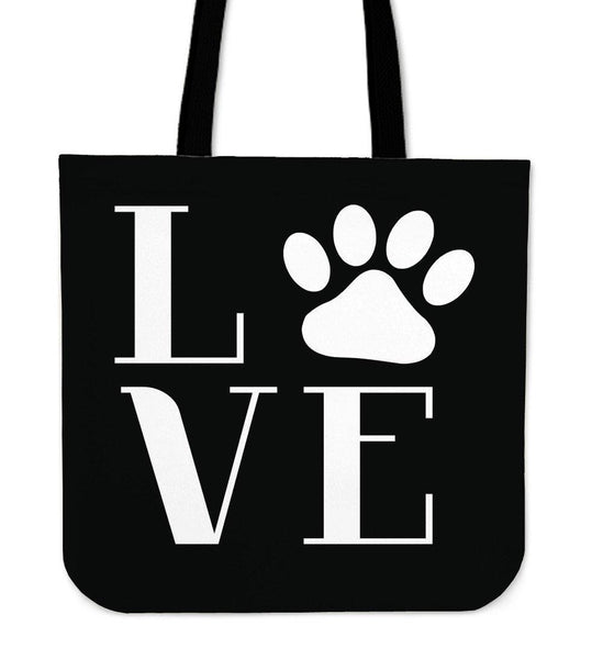 Love Paws Tote Bag