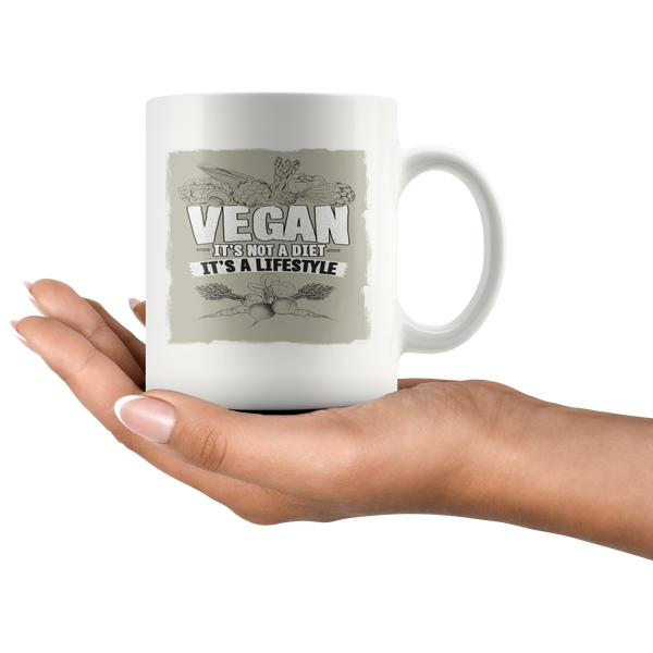 Vegan - It's Not A Diet, It's A Lifestyle Mug