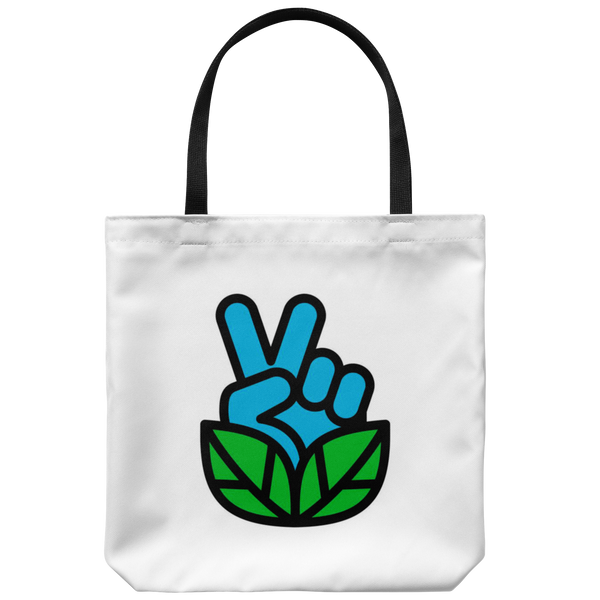 Go Vegan Revolution Logo Tote Bag - Assorted Colors
