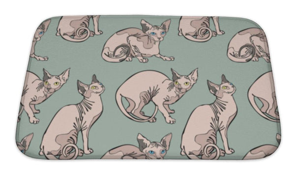 Sphynx Cats Floor Mat