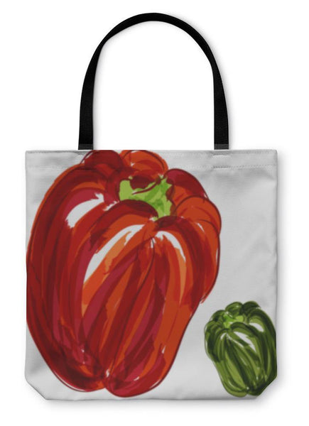 Bell Peppers Tote Bag - Go Vegan Revolution