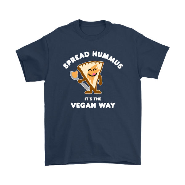 Spread Hummus It's The Vegan Way Shirt (Mens)