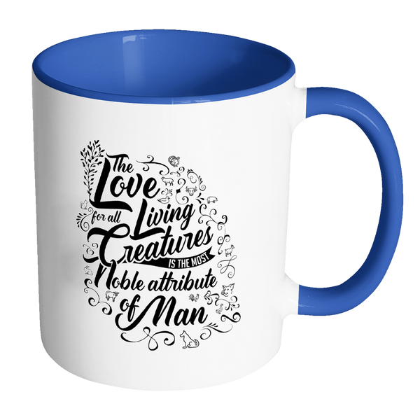 Love All Living Creatures - Mug