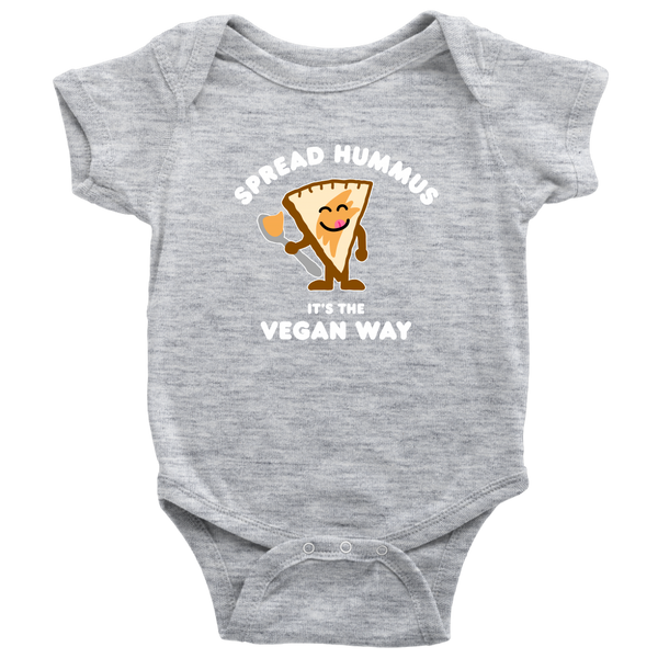 Spread Hummus It's The Vegan Way Onesie
