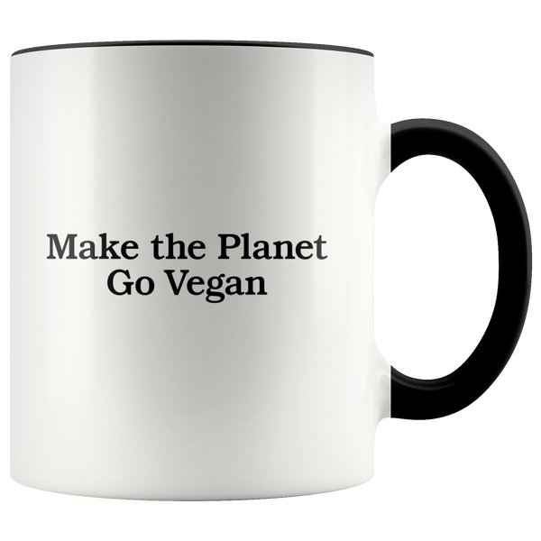 Make The Planet Go Vegan Mug