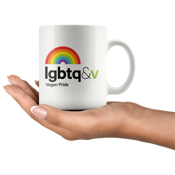 LGBTQ & V - Message Mug