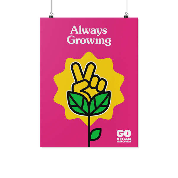 Always Growing Poster