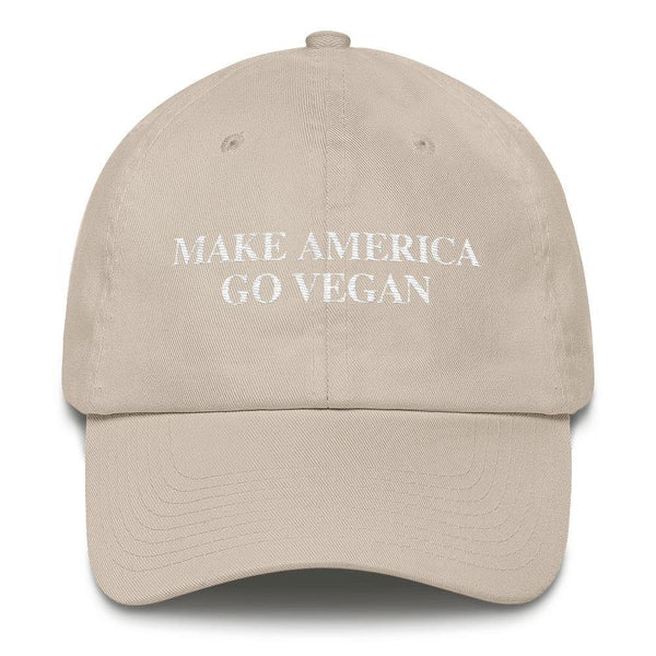 Make America Go Vegan Cap (in 10 colors)