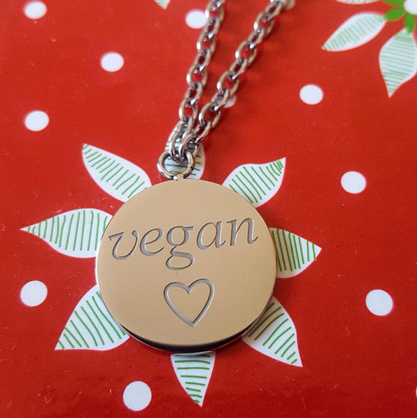 Necklace - Go Vegan Official Necklace