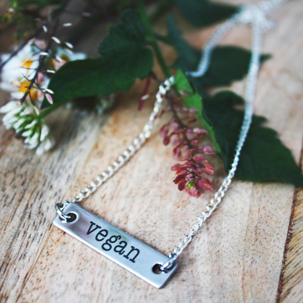 Vegan Forever Necklace