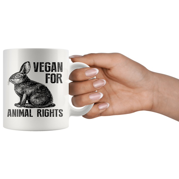 Vegan for Animal Rights Mug