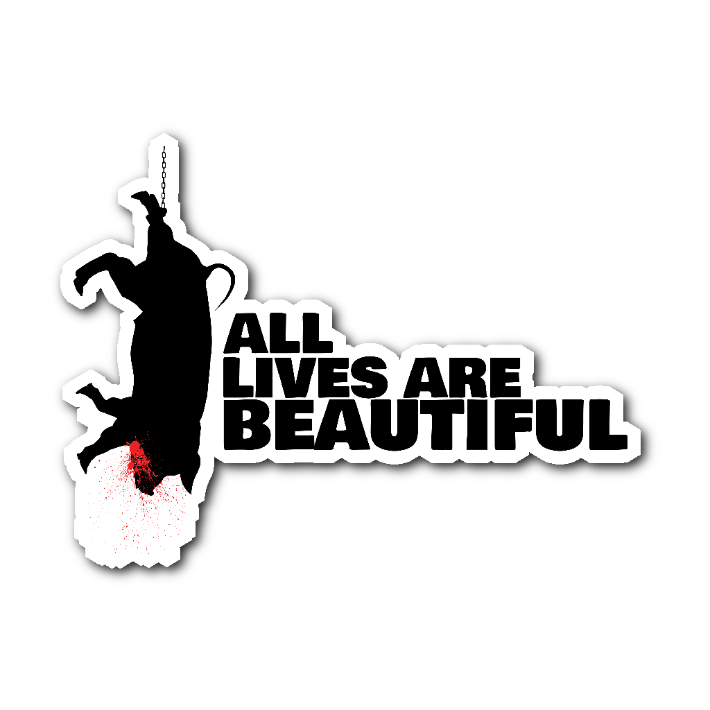 Stickers all lives are beautiful sticker