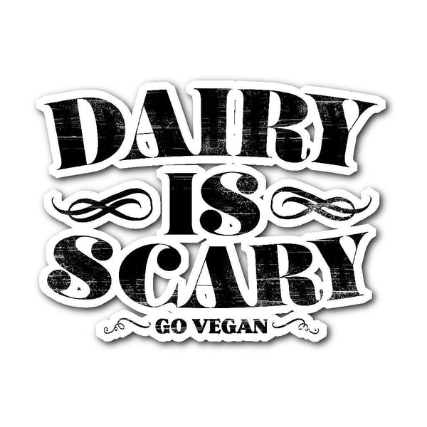 Stickers - Dairy Is Scary - Sticker