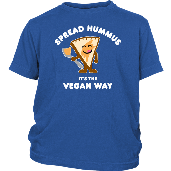 Spread Hummus It's The Vegan Way Shirt (Kids)