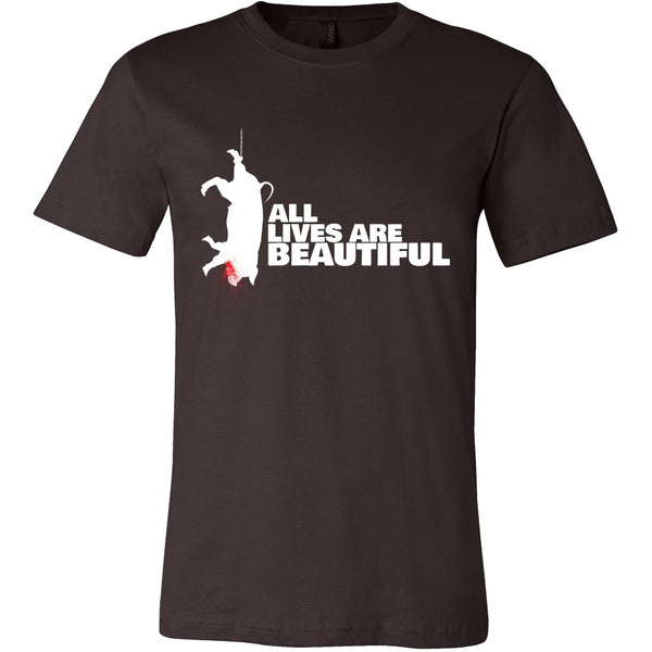 T-shirt - All Lives Are Beautiful - Men's Shirt