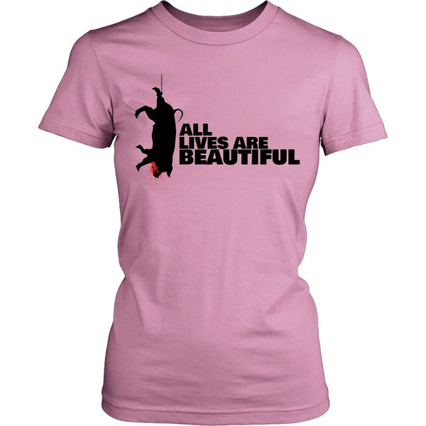 T-shirt - All Lives Are Beautiful - Shirt