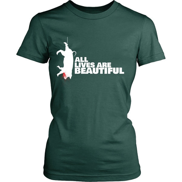 T-shirt - All Lives Are Beautiful - T-Shirt