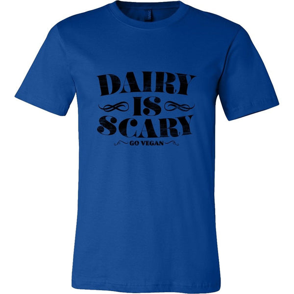 T-shirt - Dairy Is Scary - Men's Shirt (Black Print)