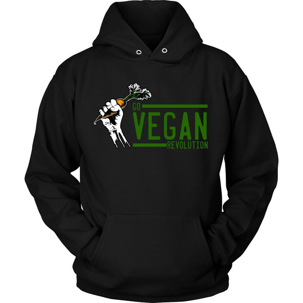 T-shirt - Go Vegan Revolution Official Shirt